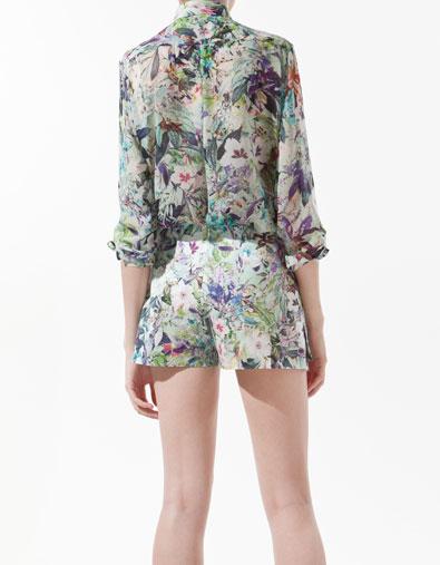 Sơ mi hoa Zara gây sốt cộng đồng thời trang - 2