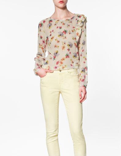Sơ mi hoa Zara gây sốt cộng đồng thời trang - 3