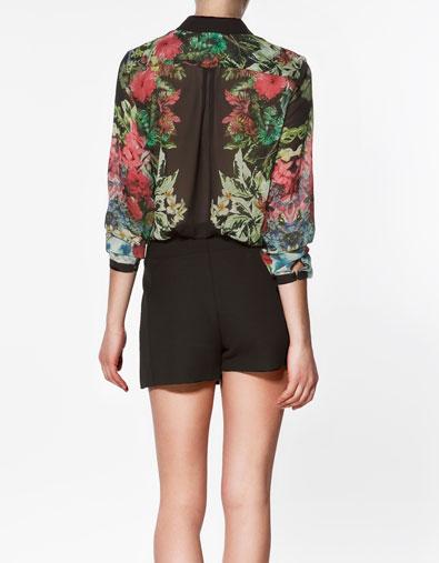 Sơ mi hoa Zara gây sốt cộng đồng thời trang - 8